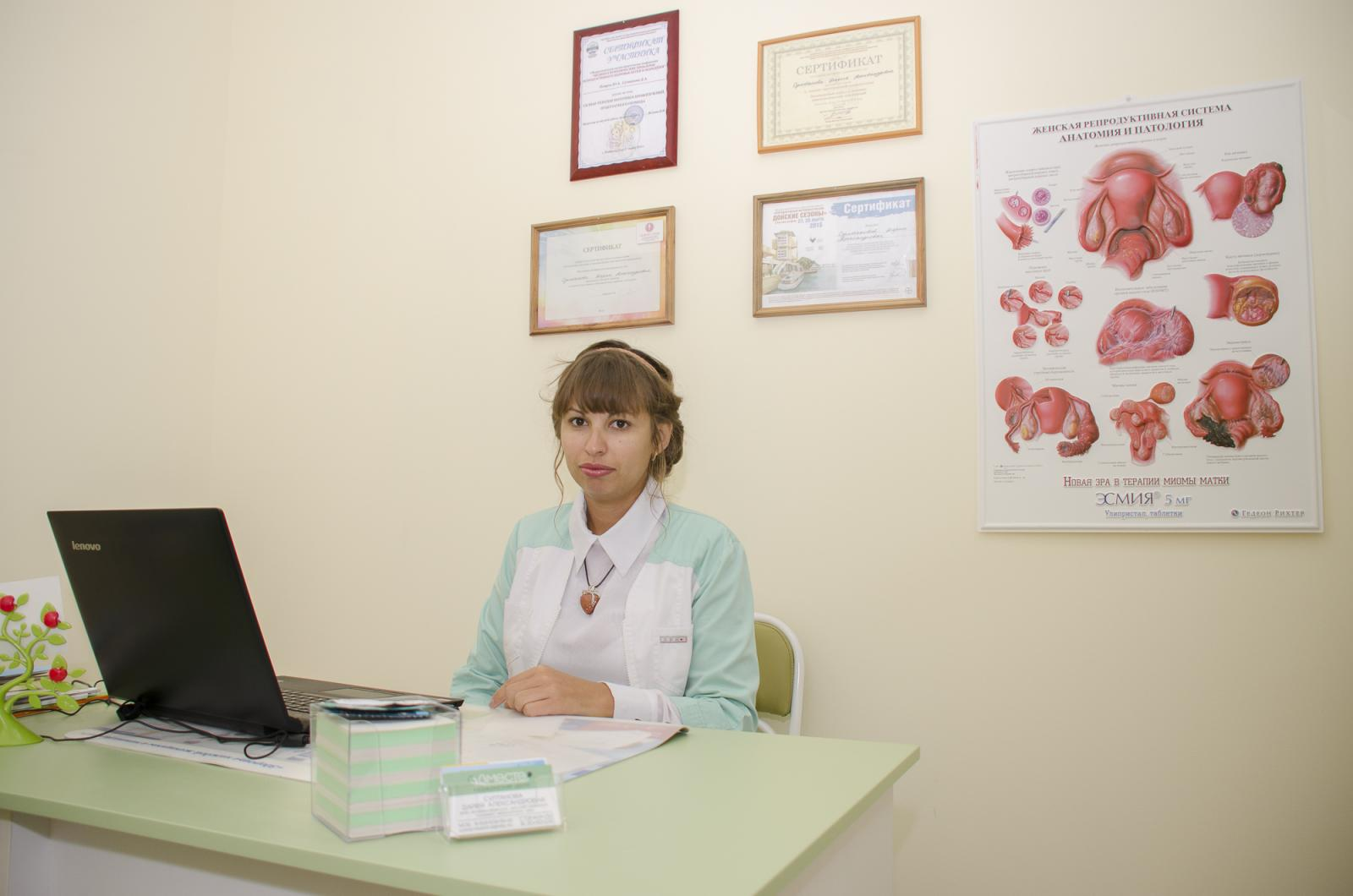 со стороны гинеколога фото